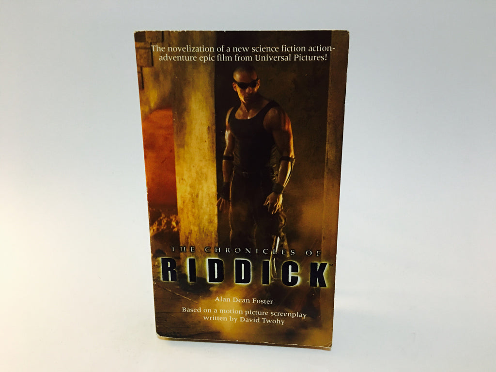 The Chronicles of Riddick Film Novelization 2004 Paperback - LaCreeperie