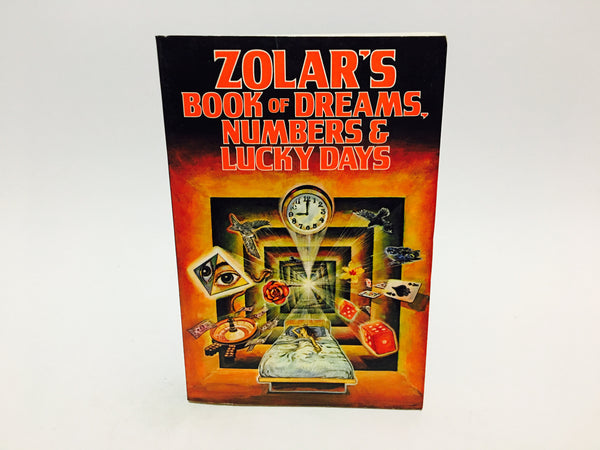 Zolar's Book of Dreams, Numbers and Lucky Days 1987 Softcover - LaCreeperie