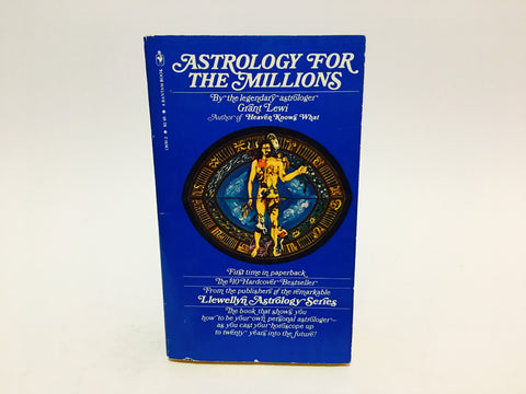 Astrology for the Millions by Grant Lewi 1980 Paperback