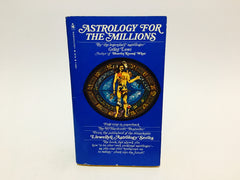 Astrology for the Millions by Grant Lewi 1980 Paperback - LaCreeperie