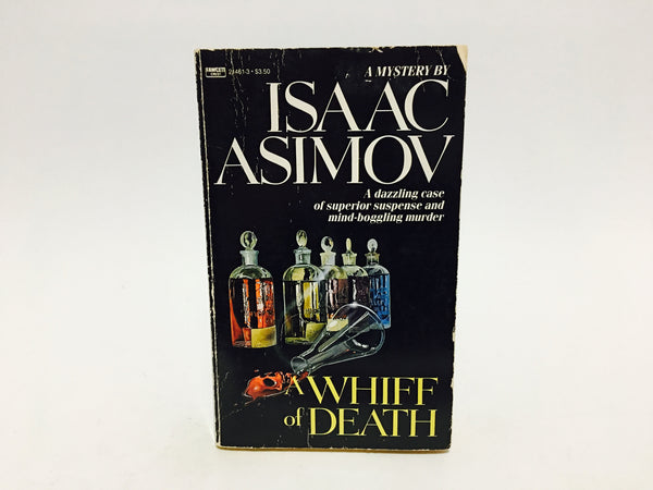 A Whiff of Death by Isaac Asimov 1987 Paperback - LaCreeperie
