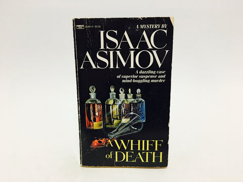 A Whiff of Death by Isaac Asimov 1987 Paperback
