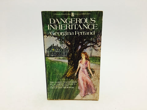 Dangerous Inheritance by Georgina Ferrand 1974 Paperback