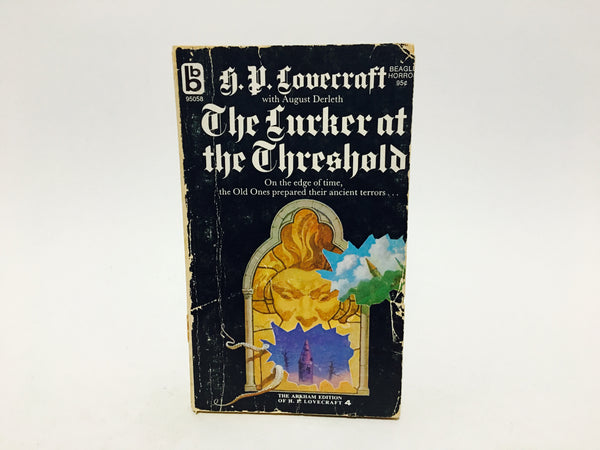 The Lurker at the Threshold by H.P. Lovecraft & August Derleth 1971 Paperback - LaCreeperie
