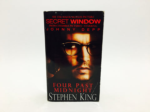 Four Past Midnight by Stephen King 2004 Movie Tie-in Edition Paperback