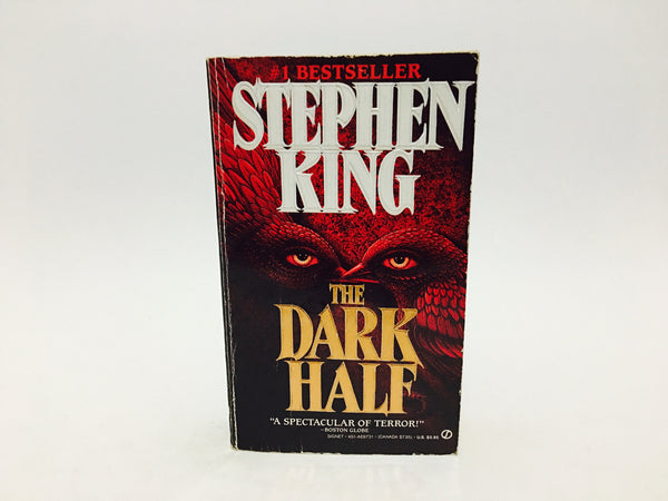 The Dark Half by Stephen King 1990 First Edition Paperback - LaCreeperie