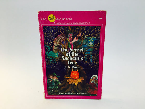 The Secret of the Sachem's Tree by F.N. Monjo 1976 Softcover - LaCreeperie