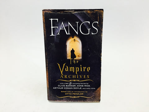 Fangs: The Vampire Archives Vol. 2 2010 Paperback Anthology