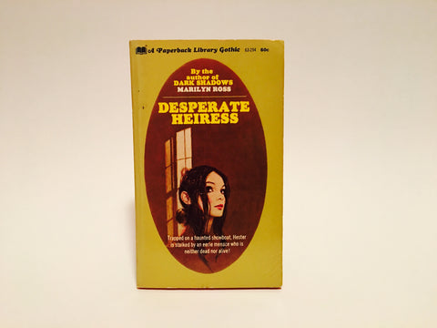 Desperate Heiress by Marilyn Ross 1970 Paperback