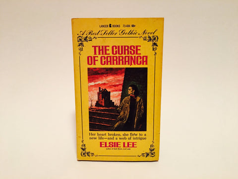 The Curse of Carranca by Elsie Lee 1966 Paperback