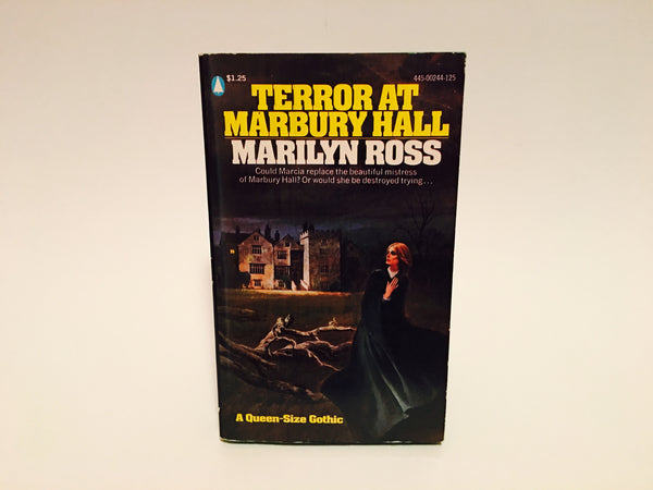 Terror At Marbury Hall by Marilyn Ross 1975 Paperback - LaCreeperie
