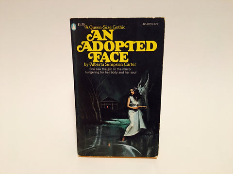 An Adopted Face by Alberta Simpson Carter 1975 Paperback