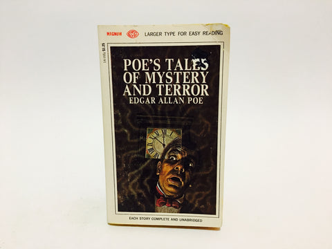 Poe's Tales of Mystery and Terror 1967 Paperback Anthology