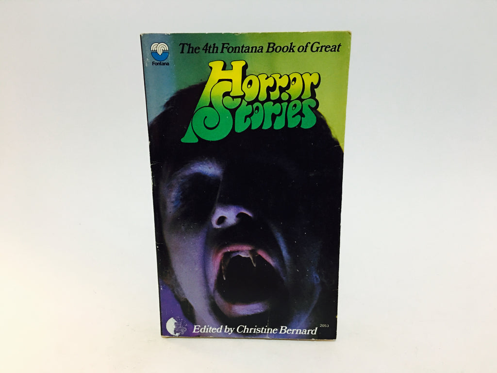 The 4th Fontana Book of Great Horror Stories 1973 UK Edition Paperback Anthology - LaCreeperie