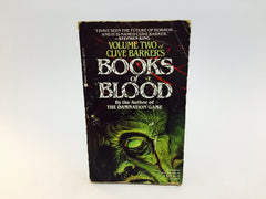 Books of Blood Vol. 2 by Clive Barker 1986 Paperback - LaCreeperie
