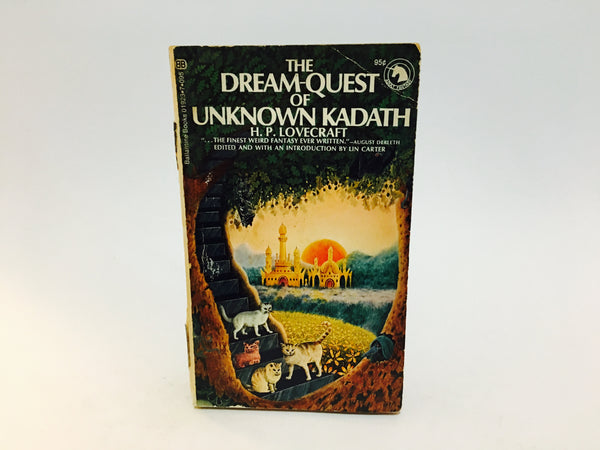 The Dream-Quest of Unknown Kadath by H.P. Lovecraft 1973 Paperback Anthology - LaCreeperie