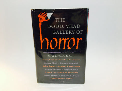 The Dodd, Mead Gallery of Horror First Edition 1983 Hardcover Anthology