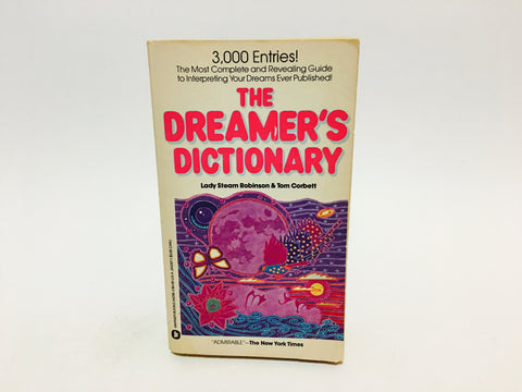 The Dreamer's Dictionary by Lady Stearn Robinson & Tom Corbett 1975 Paperback