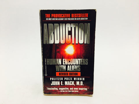 Abduction: Human Encounters with Aliens by John E. Mack, M.D. 1995 Paperback