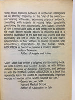 Abduction: Human Encounters with Aliens by John E. Mack, M.D. 1995 Paperback - LaCreeperie