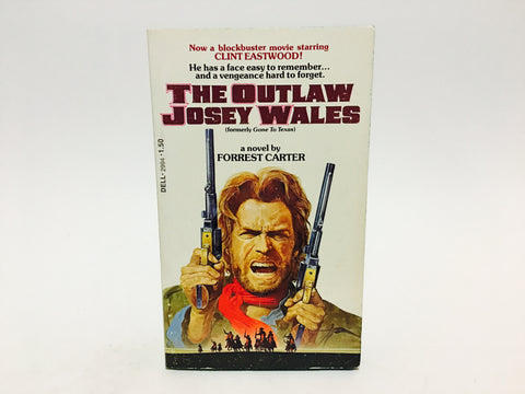 The Outlaw Josey Wales Film Novelization 1976 Paperback