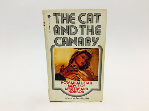 The Cat and the Canary Film Novelization 1978 Paperback