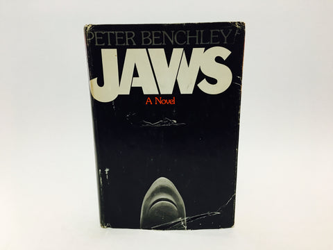 JAWS by Peter Benchley 1974 First Edition Hardcover