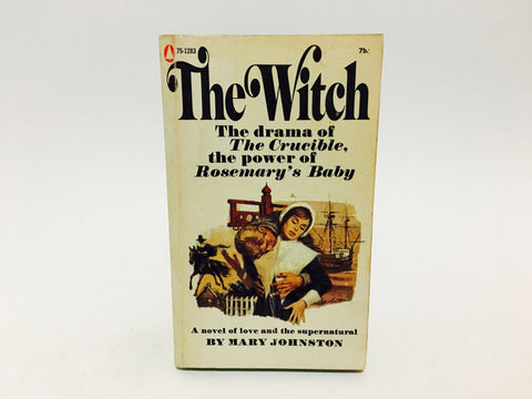 The Witch by Mary Johnston 1960s Paperback