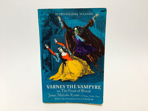 Varney, The Vampire by James Malcolm Rymer 1973 Softcover Vol. 2