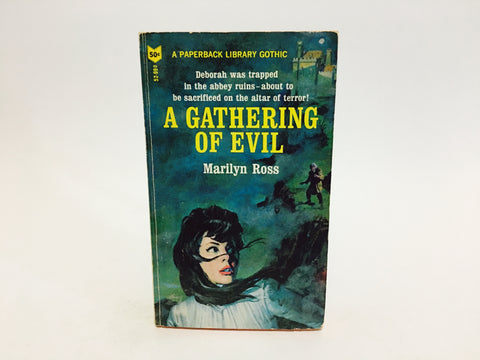 A Gathering of Evil by Marilyn Ross 1966 Paperback