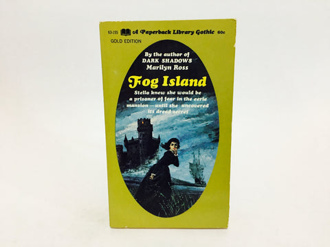 Fog Island by Marilyn Ross 1969 Paperback