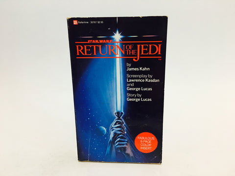 Return of the Jedi Film Novelization 1983 Paperback