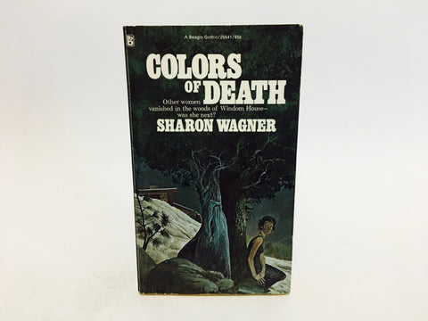 Colors of Death by Sharon Wagner 1974 Paperback