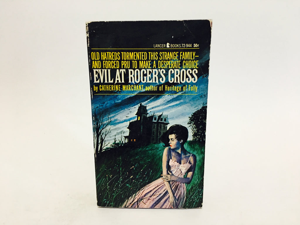 Evil at Roger's Cross by Catherine Marchant 1965 Paperback - LaCreeperie
