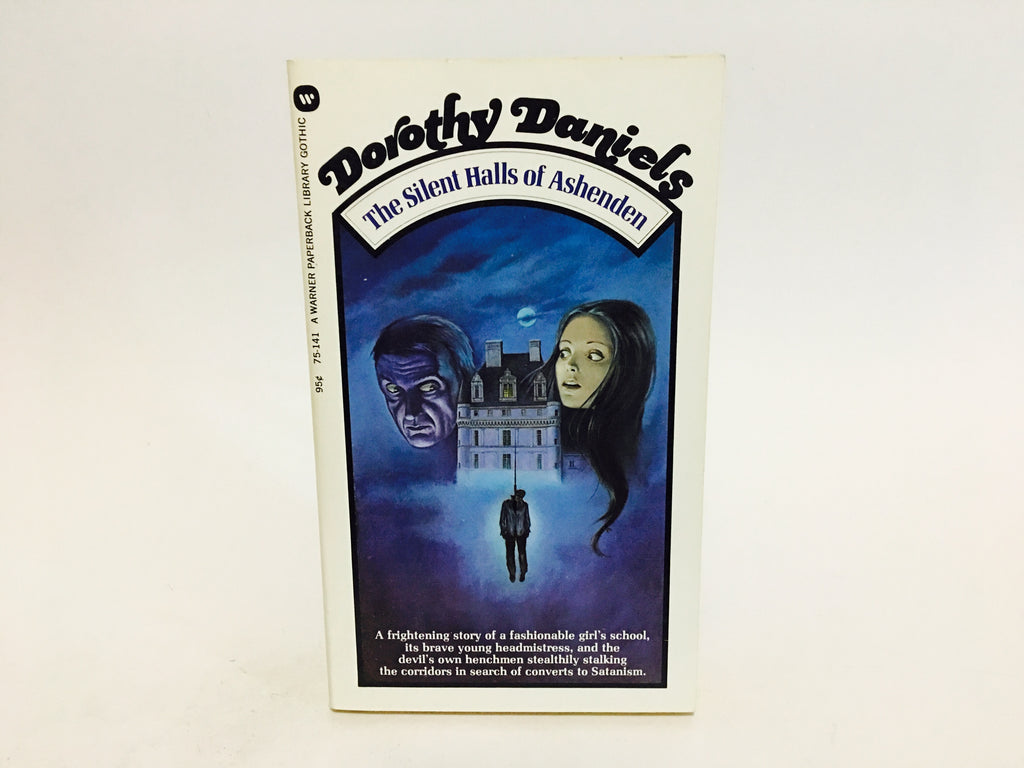 The Silent Halls of Ashenden by Dorothy Daniels 1973 Paperback - LaCreeperie