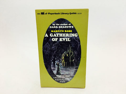 A Gathering of Evil by Marilyn Ross 1970 Paperback