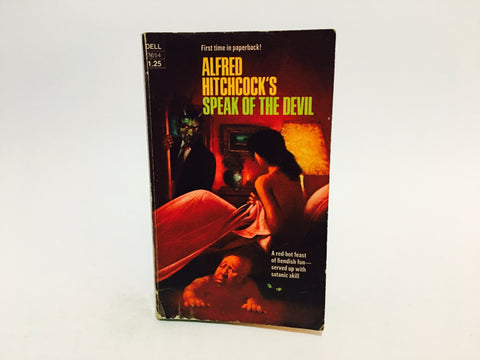 Alfred Hitchcock's Speak of the Devil 1975 Paperback Anthology