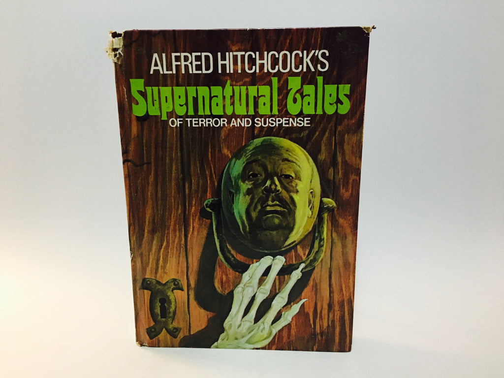 Alfred Hitchcock's Supernatural Tales 1973 Hardcover Anthology - LaCreeperie