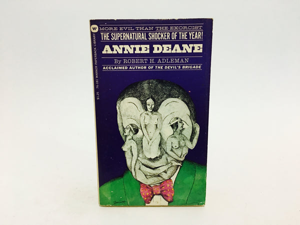 Annie Deane by Robert H. Adleman 1973 Paperback - LaCreeperie