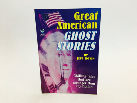 Great American Ghost Stories by Jeff Rovin 1994 Paperback Pamphlet