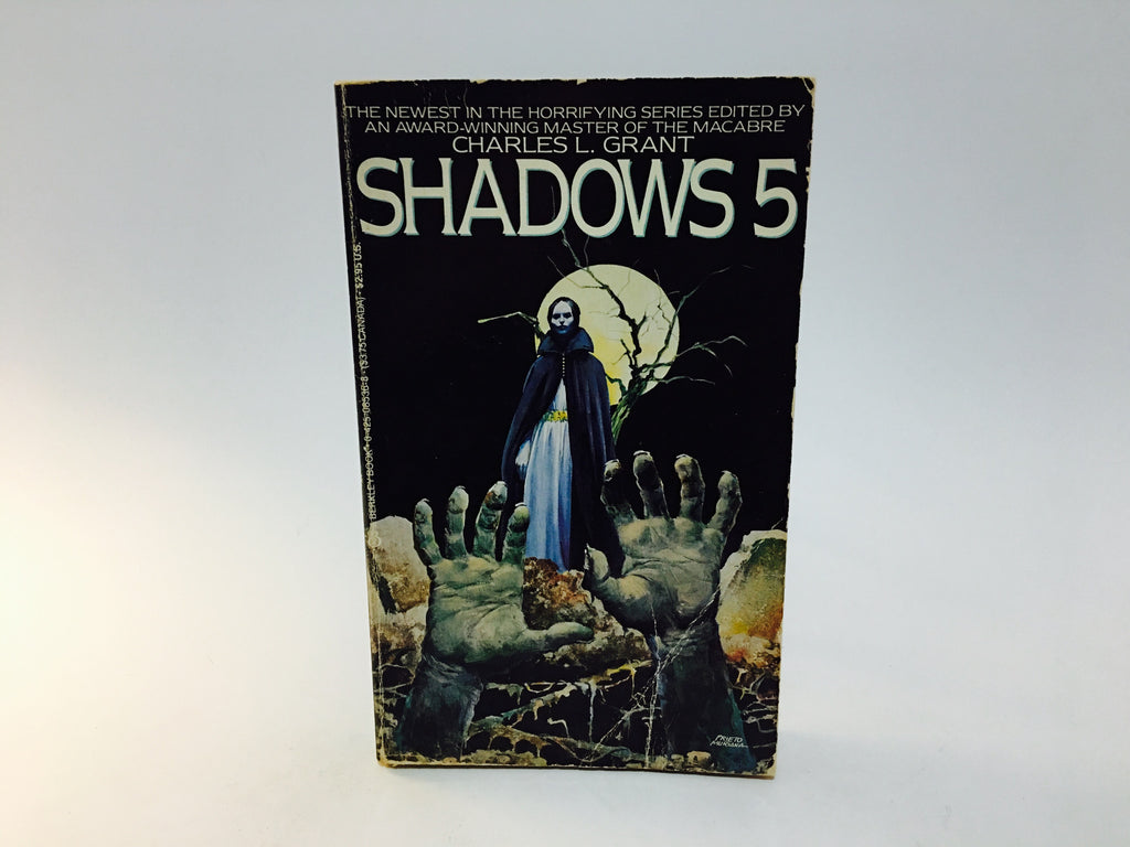 Shadows 5 - Charles L. Grant 1986 Paperback Anthology - LaCreeperie