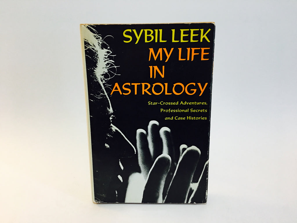 My Life In Astrology by Sybil Leek 1972 Hardcover - LaCreeperie
