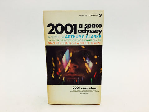 2001 A Space Odyssey Film Novelization 1968 Paperback