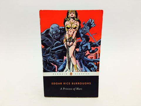 A Princess of Mars by Edgar Rice Burroughs 2007 Softcover Penguin Edition