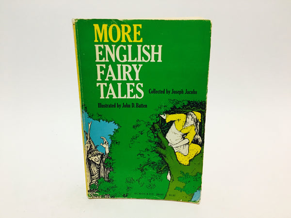 More English Fairy Tales Collected by Joseph Jacobs 1968 Softcover - LaCreeperie