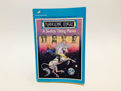 A Swiftly Turning Planet by Madeleine L'Engle 1980s Paperback Classic