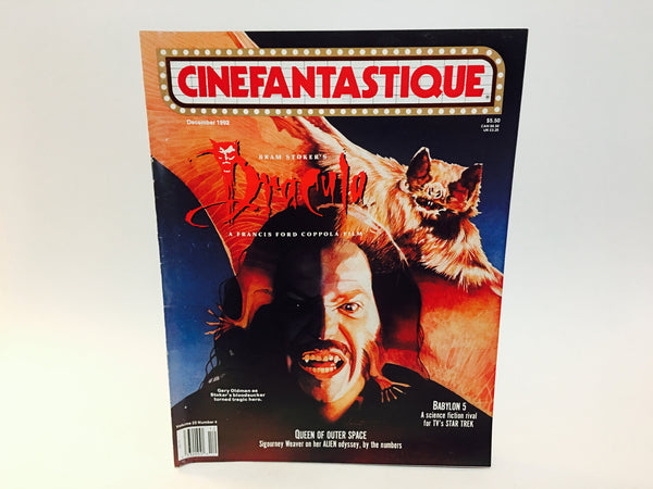 Cinefantastique Magazine December 1990 Dark Shadows - LaCreeperie