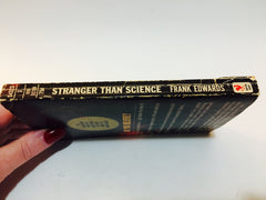 Stranger Than Science by Frank Edwards 1967 Paperback - LaCreeperie