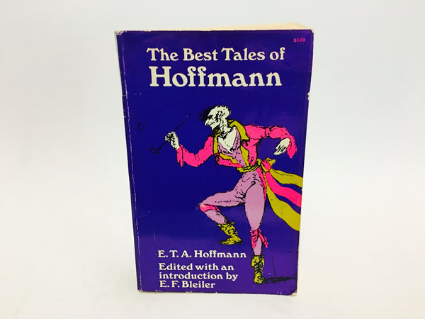 The Best Tales of Hoffman 1967 Softcover Anthology - LaCreeperie
