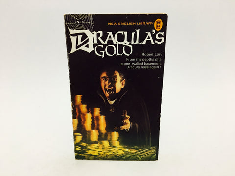 Dracula's Gold by Robert Lory 1975 UK Edition Paperback Series #4
